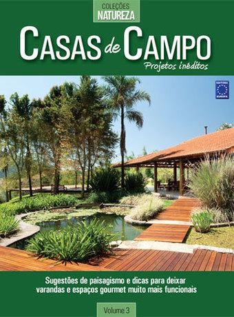 Editora Europa Livro Casas De Campo Vol3 Projetos Inéditos