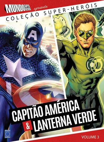 Coleção Super-Heróis Volume 3: Capitão América & Lanterna Verde