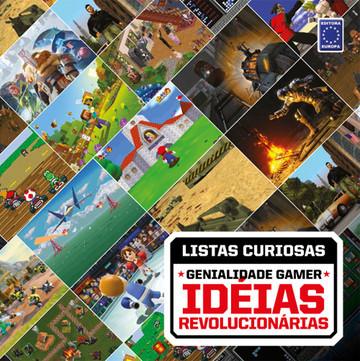 Coleção Listas Curiosas: Genialidade Gamer - Idéias Revolucionárias