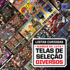 Coleção Listas Curiosas: Games de Luta: Telas de Seleção Diversos