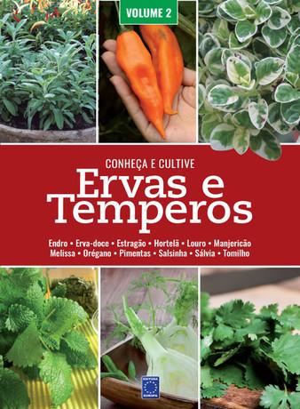 Ervas e Temperos: Conheça e Cultive - Volume 2