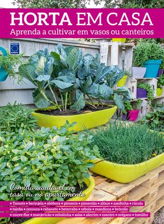 Horta em Casa - Aprenda a cultivar em vasos ou canteiros