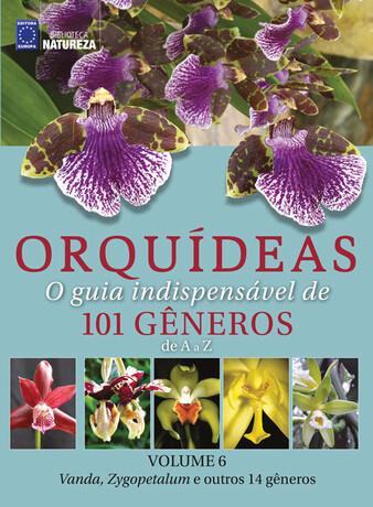 Coleção Orquídeas: O guia indispensável de 101 gêneros de A a Z - Volume 6