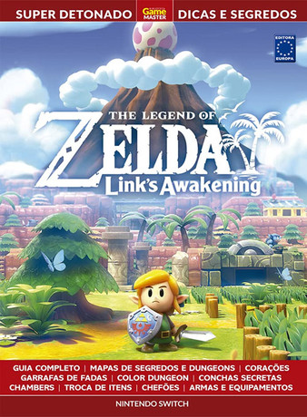 Super Detonado Dicas e Segredos - The Legend of Zelda: Links Awakening