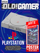 Revista Superpôster OLD!Gamer - PlayStation