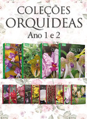 Coleção Orquídeas Ano 1 + Ano 2 - 14 volumes