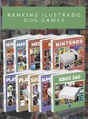 Coleção Ranking Ilustrado dos Games - 10 livros