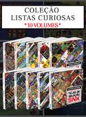 Coleção Listas Curiosas - 10 Volumes